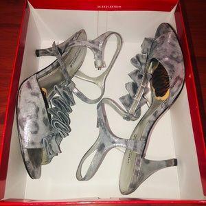 Michelle D Ruffle Heels